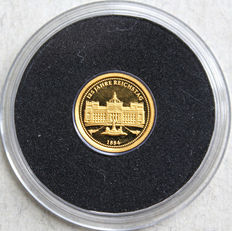 Germany – medallion 2009 '125 Years Reichstag' – gold