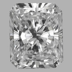 0.45ct Radiant Brilliant Diamond F IF  IGI - SEALED -serial#1767