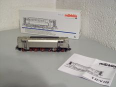 Märklin H0 - From set 37203 – Diesel compressed air locomotive V120 of the DRG