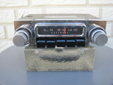 National klassieke autoradio +/- 1960 - Made in Japan