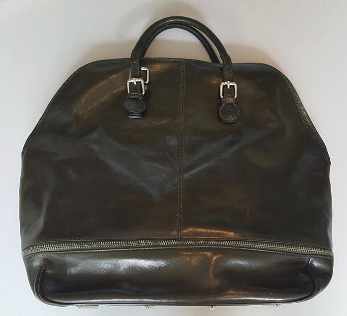 T. Michael – leather travel bag