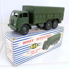 Dinky Supertoys - Scale 1/48 - 10-Ton Army Truck No.622