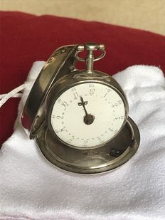 T Truman of London pocket watch 1747