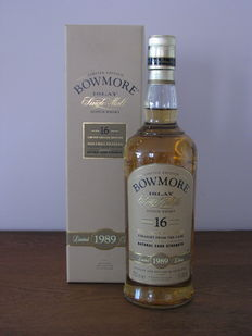 Bowmore 16 years old 1989 Straight From the Cask