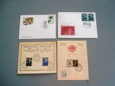 Belgium - Lot of stamps, blocks, postal matters and stamp sheets