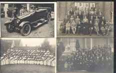 Unknown photographer 186x; old and very old picture postcards with soldiers