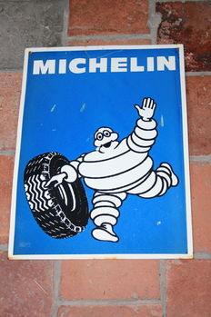 Advertising sign for Michelin - second half of the 20th century.
