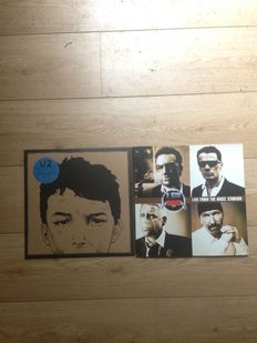 U2 LP set || Rare editions || Still in sealing || Numbered || Coloured || Collectors' items