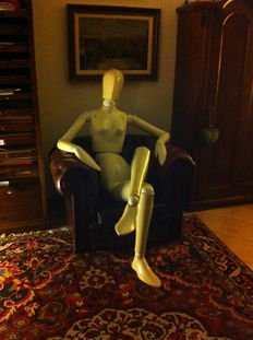 Arte Vetrina Veglio - Adjustable mannequin, which can be made 'male' or 'female'