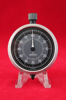 Omega Lapping Timer -- 1970s -- Swiss Made Stopwatch - diameter 52 mm