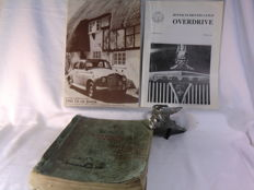 Rover England - Rover Workshop Manual - 1950/'61 - Original Rover 1922 Radiator Car Badge