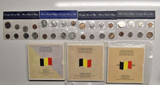 Belgium - Year sets 1978/1990 (including collection set 1982/1988)