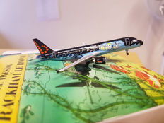 Hergé - Airplane model Brussels Airlines - Airbus A320 Rackham - Tintin (2015)