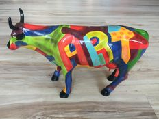 Cynthia S. Hudson voor cowparade - Art of America - LARGE - Resin - RETIRED