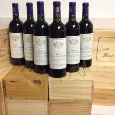 2005 Chateau Haut-Saint-Georges Saint Emilion, 6 bottles of 750 ml, packed per two in original wooden case.