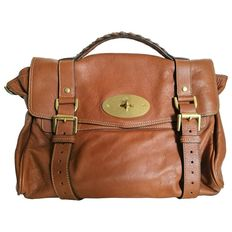 Mulberry - Brown leather Satchel bag