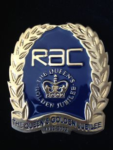 RAC Badge; rare Golden Jubilee badge 2002