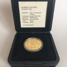 The Netherlands – Double ducat 1991 – gold