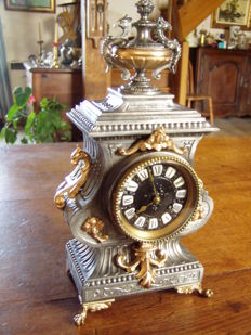 Free standing French clock - Late 19th