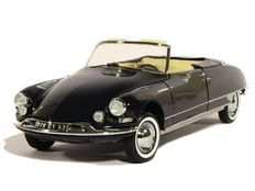Norev - Scale 1/18 - Citroën DS 19 Convertible 1961 - Blue