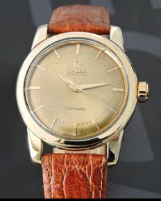 OMEGA-Seamaster- 14K gold sets-Automatic movement-Men's-60s