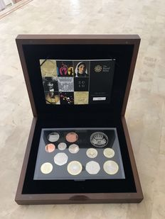 United Kingdom - 1 Penny up to and including 5 Pounds 2010 Elizabeth II (13 coins) in set
