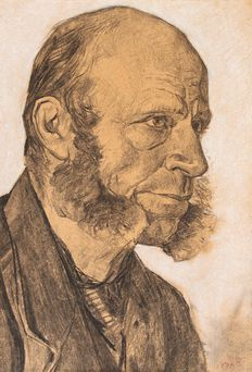 Willem de Zwart (1862-1931) -  Portrait of an Old Man.