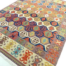 Kilim - 240 x 175 cm - exclusive,  modern kilim in mint condition.