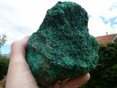 Rare brochantite cristaux - 13 cm x 12 cm - 1318 gm