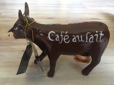Jiri Silva voor cowparade  - Cafe au lait -  Medium  - Retired