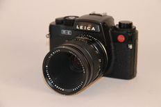 Leica R-E with Macro Elmarit - R 2.8/60mm