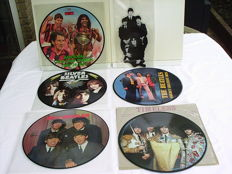Collection of 9 Beatles Picture Discs , All in Near Mint Unplayed Condition