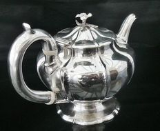 Antique Silver Teapot, London 1830, Charles Gordon