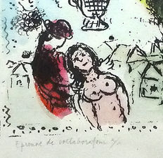Marc Chagall - not signed - 1980