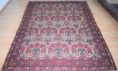Persian carpet Lililan – around: 1950, 210 x 165 cm - no reserve, bidding starts at €1.