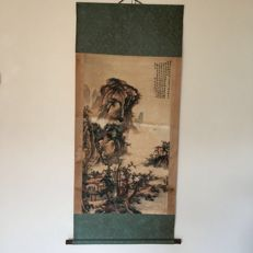 Decorational Silk painting - China - mid 20th century