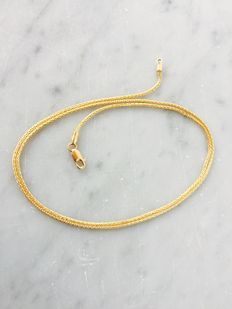 Necklace in 18 kt gold – 47 cm