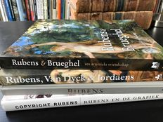 Rubens; Lot with 4 publications - 1989 / 2011