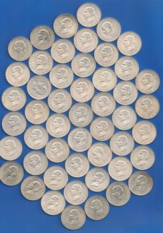 Greece - 20 Drachmai 1960 (lot of 50 coins) - Silver