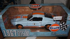 "Greenlight - Scale 1/18 - Ford Shelby 1967 GT-500 - ""Gulf"""