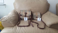 BURBERRY – Lot of 2 bags