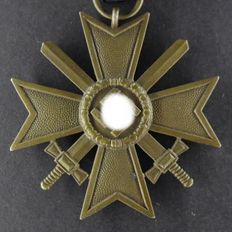 War Merit Cross 2nd class with swords 3rd Reich