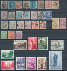 Belgium 1863/1957 – Selection between OBP 14 and 1031