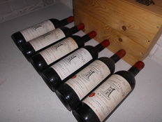 1975 Chateau Latour St. Bonnet, Cru Bourgeois Medoc, 73 cl 6 bottles of