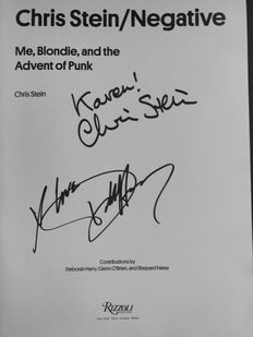 Chris Stein - Negative Me, Blondie, and the Advent of Punk - 2014
