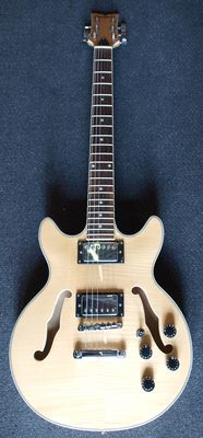 New Chs Hollowbody (ES335 model) in Transparent Natural