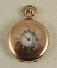 ROLEX - pocket watch with window -