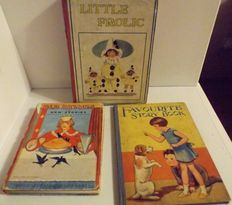 Rhymes & Stories; Lot with 3 illustrated children's books - 1928/(1950)