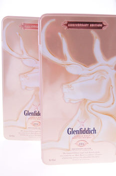 2 bottles - Glenfiddich 125th Anniversary