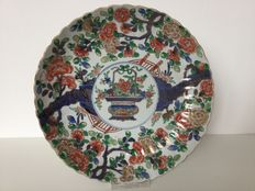 Large famille verte platter – China – early 18th century (Kangxi period)